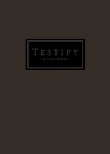 TESTIFY - CHARCOAL COVER STOCK