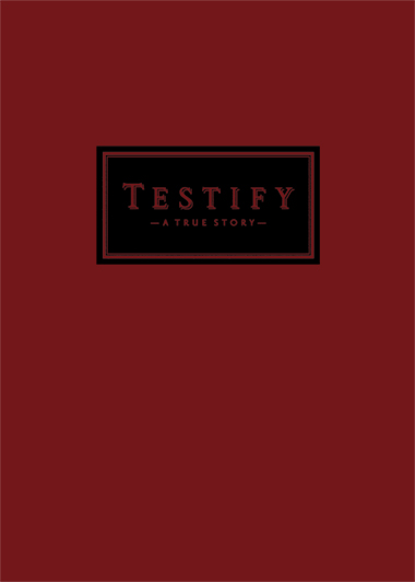 TESTIFY - HAUTE RED COVER STOCK