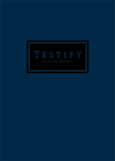 TESTIFY - MIDNIGHT BLUE COVER STOCK